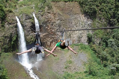Baños Ecuador, Ecuador, kayak, hike, adventure, mtb, canopy, rafting, rappel, pailon del diablo, andes, termas, Ecuatouring