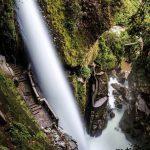 Pailon del Diablo, Devil´s Cualdron, Rio Verde, Balos Ecuador, Ecuador Banos, waterfalls trail