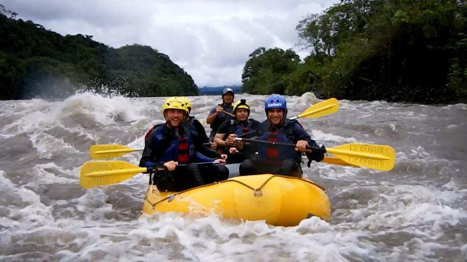 rafting in banos, ecuatouring, banos ecuador