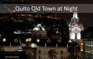Old Quito at Night